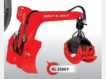 KRPAN KL2500 F rönkmarkoló