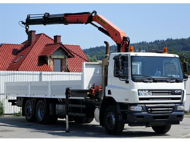 DAF  CF 75.310 6x2 Darus PK15500