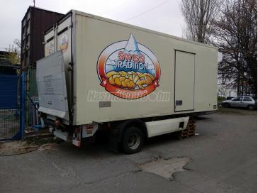 FLOOR MININYERGES. hűtős. hátfalas pótkocsik
