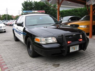 FORD CROWN VICTORIA POLICE INTERCEPTOR!