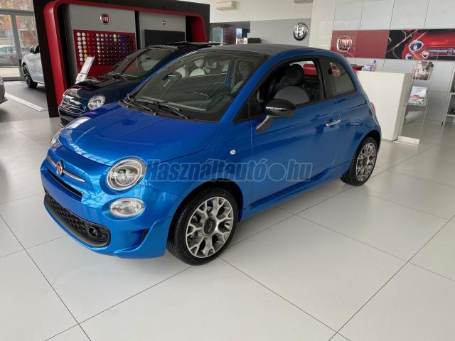FIAT 500 CABRIO CONNECT+ extrák!