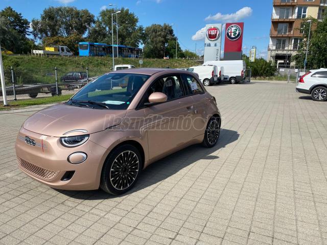 FIAT 500 500e Icon 42kWh (Automata) Plusz Extrák! Rosé Gold készletről!