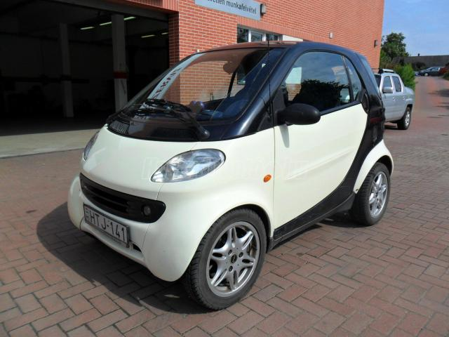 SMART FORTWO 0.6& Pure Softouch PANORÁMATETŐ!
