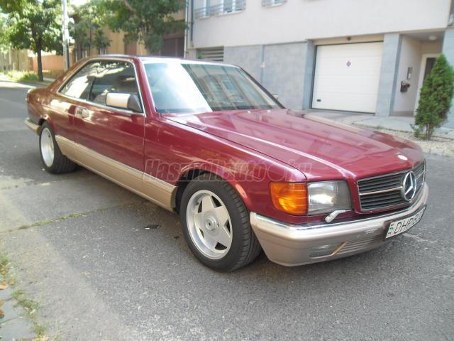 MERCEDES-BENZ S 560 SEC.W126 COUPE.ROZSDAMENTES.FRISS VIZSGA.VAJBŐR!!